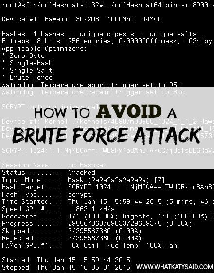 brute force attack 2