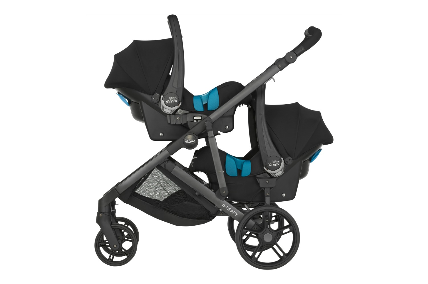 Britax B-READY with B-SAFE carseats