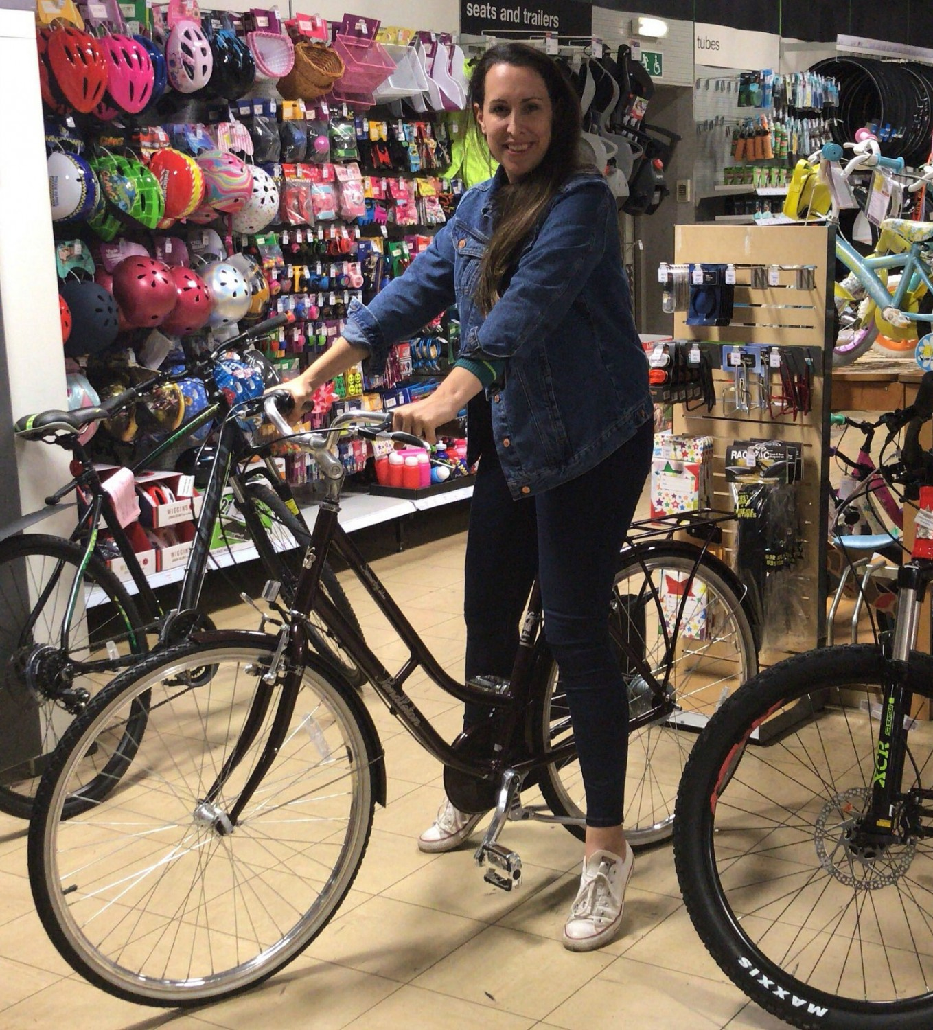 Picture of: The Pendleton Somerby Deluxe Hybrid Bike What Katy Said