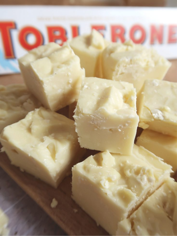 Toblerone White Chocolate Fudge