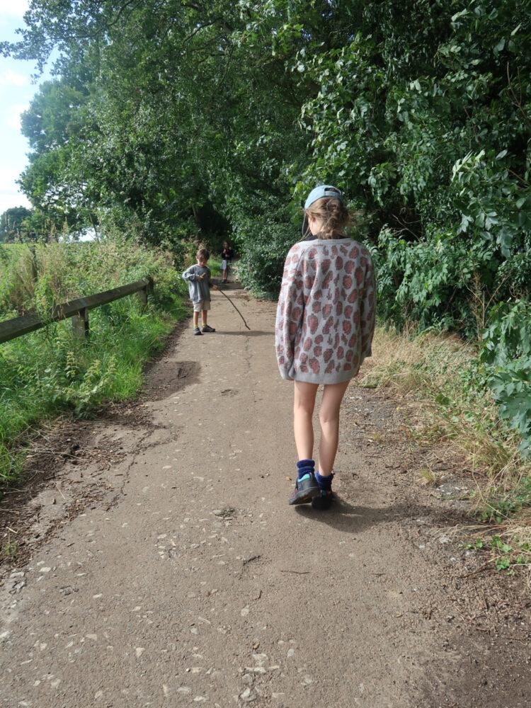 KEEN walking shoes for kids
