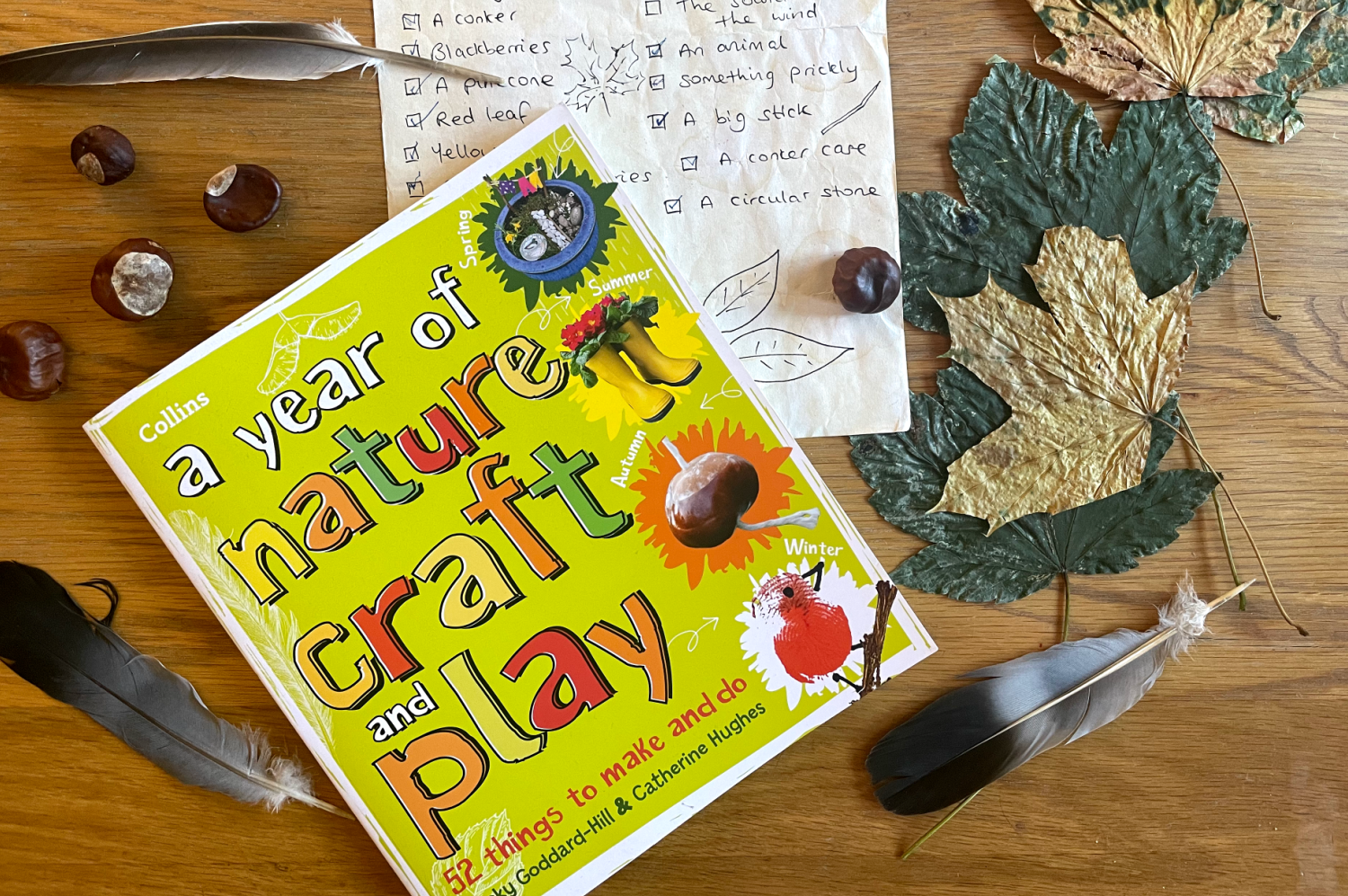 A Year of Nature Craft and Play: 52 Things to Make and Do: Book Review