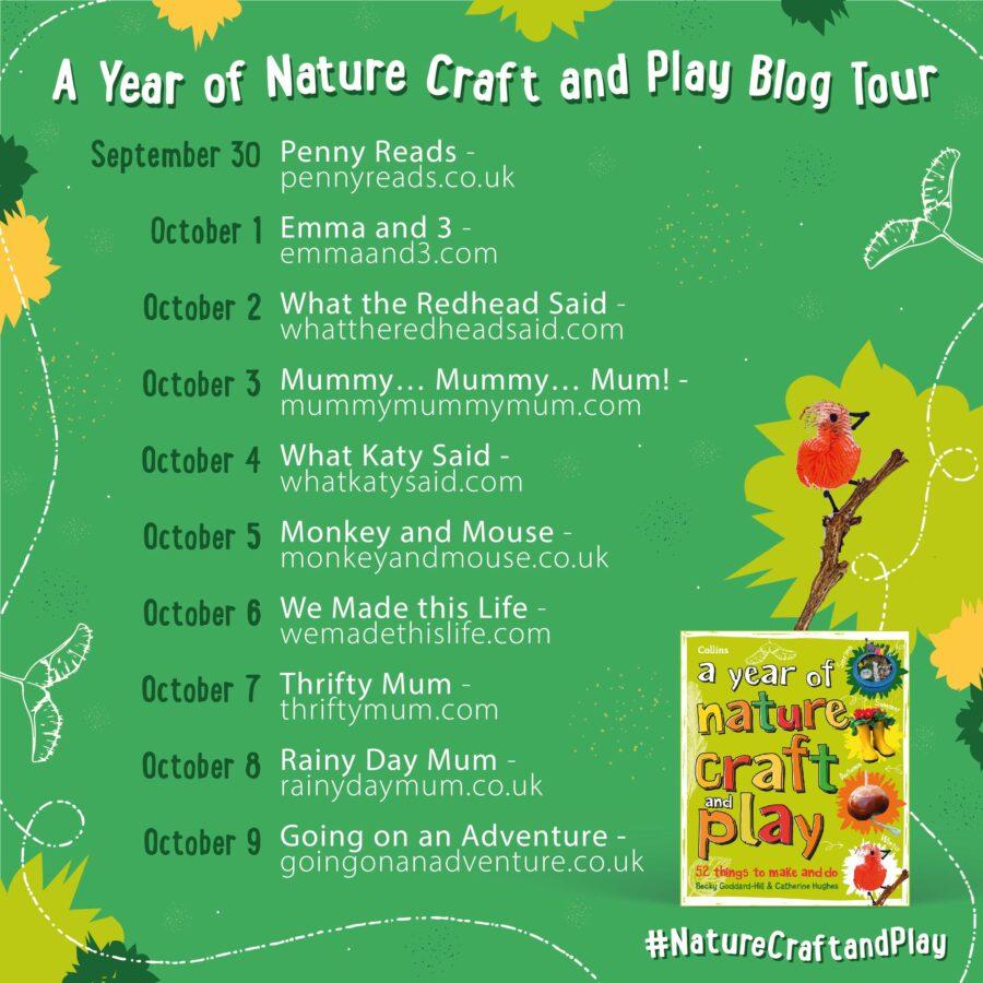 Nature Craft Blog Tour Instagram